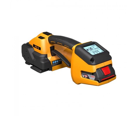 STB 75 battery operated plastic strapping hand tool 16mm-19mm, 18 Volt (450kg tension)