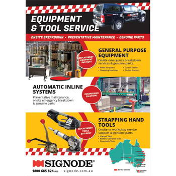 Signode Equipment and Tool Service